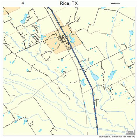 rice texas map rice texas map 4861736