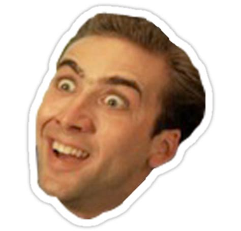 Nicolas Cage Meme Face - image result for nicholas cage face png funny and or