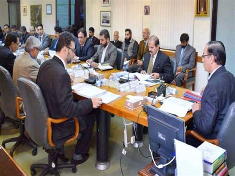 Chairing A Committee Meeting by Executive Board Meeting Nab Against Former K P Cm