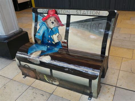 the bench book paddington comes home paddington