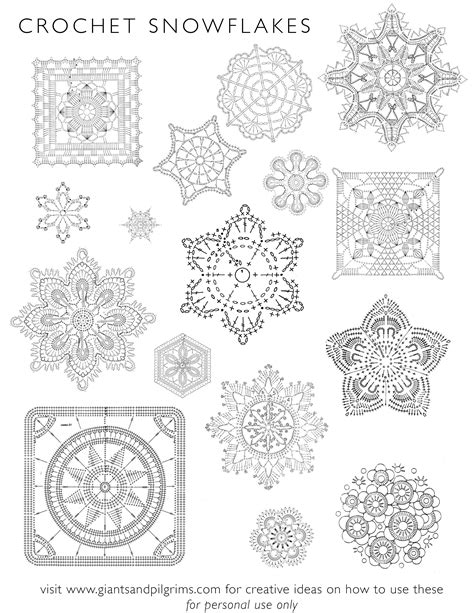 pattern of crochet stitches how to crochet snowflake patterns 33 amazing diy