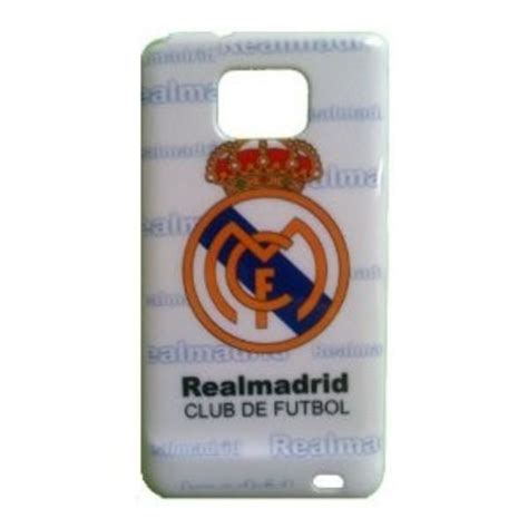 Real Madrid For Samsung Galaxy S2 I9100 capa para galaxy s2 i9100 de pl 225 stico times real