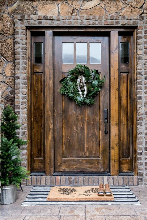 front doors granite ridge builders christmas styling guide studio mcgee