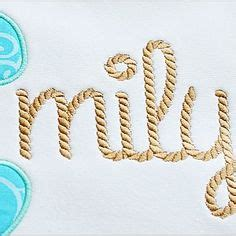 rope pattern font applique alphabets on pinterest appliques alphabet and