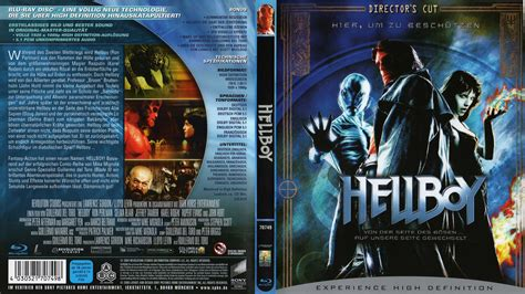 film blu ray download gratis hellboy blu ray dvd cover 2004 german