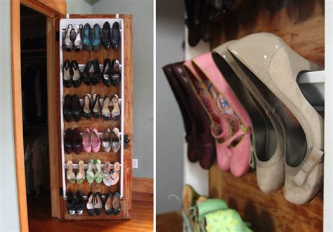 diy shoe rack for closet diy crown molding closet shoe organizer for heels