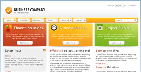 free web application templates with css chromatic free corporate template chocotemplates