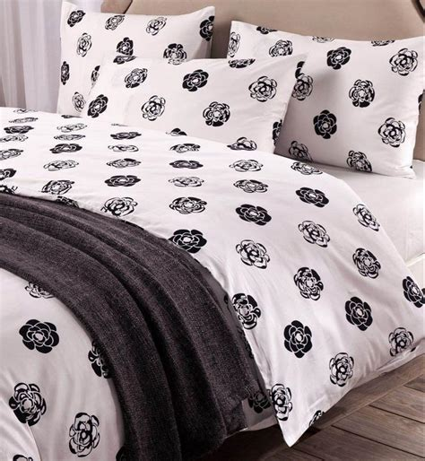 black and white queen comforter classic black and white camellia bedding set black white