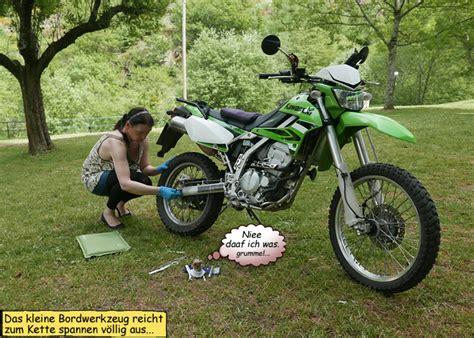 Motorrad Kette Zu Stramm by Auvergne Frankreich