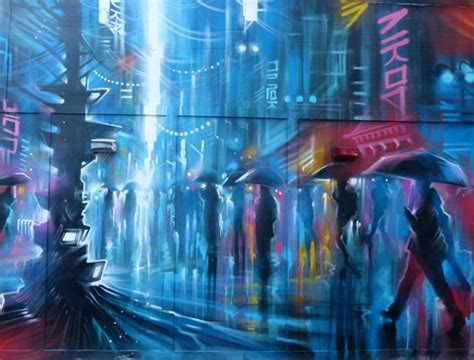paint nite kitchener quot downtown quot mural by dan kitchener jenikya s