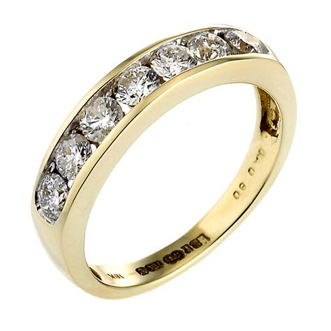 18ct gold half carat eternity ring h samuel