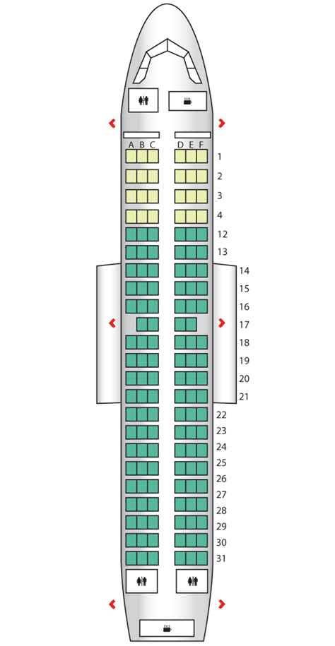 airbus a319 seat map a319 air canada seat maps reviews seatplans