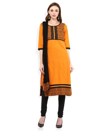 Aurelia Set by Aurelia Orange Salwar Suit Set Buy Aurelia Orange Salwar