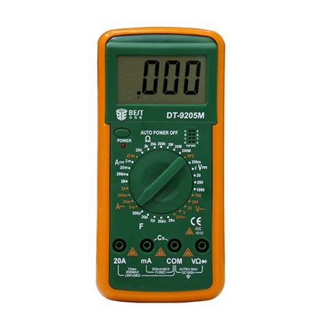 Best Dt9205m Lcd Ac Dc Volt Amp Ohm Electrical Digital