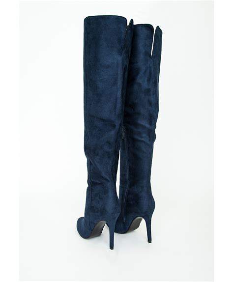 blue high heel boots navy blue high heel boots mad heel