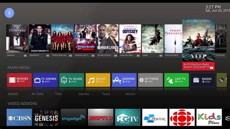 themes for android tv box android tv skin for kodi youtube