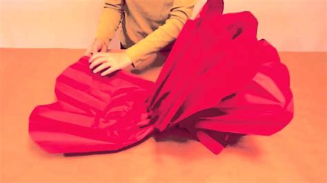 How To Make Large Tissue Paper Flowers - how to make tissue paper flowers