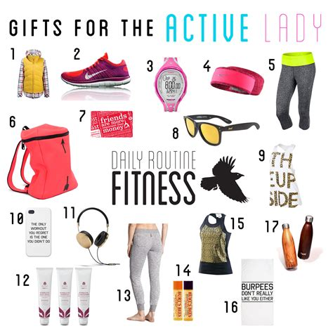 christmas gift s for the active lady on your list daily