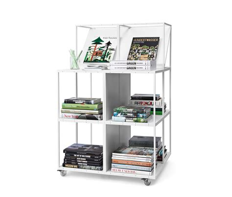 grid bookcase book displays holder from grid system