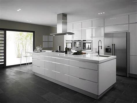 modern kitchen flooring 20 modern and contemporary kitchen ideas gray floor