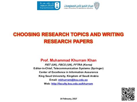 selecting a topic for a research paper choosing research topics and writing research papers