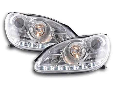 Lu Belakang Stop L Led Mercedes W220 tuning shop phares daylight pour mercedes classe a w220 an 02 05 chrome acheter