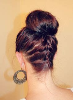 how to back your braids in doughnut bun by the sife 1000 images about how to do a sock bun on pinterest