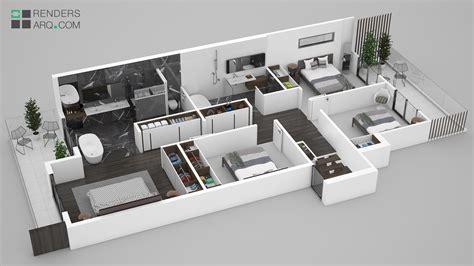 plantas 3d top maquetas de casas modernas wallpapers