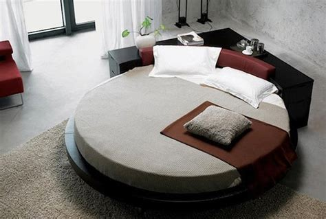 round platform bed 15 fashionable round platform beds home design lover