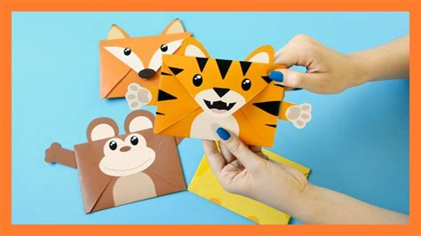 printable animal envelopes animal envelopes printable templates diy my crafts and