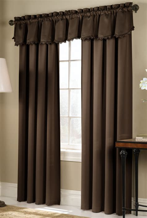 dark brown curtains living room engaging image of living room window treatment