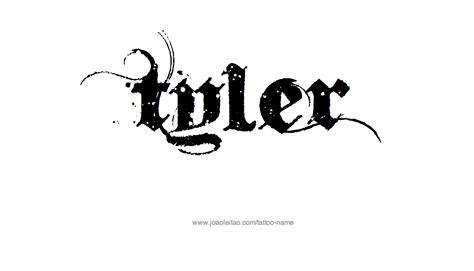 tyler tattoo name designs