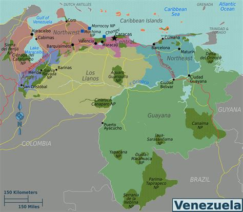 caracas on world map map of overview map regions worldofmaps net