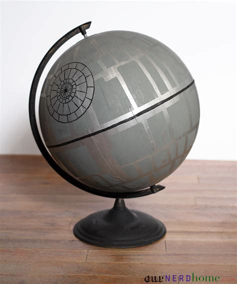 globe home decor everyone should have a diy death star globe our nerd home