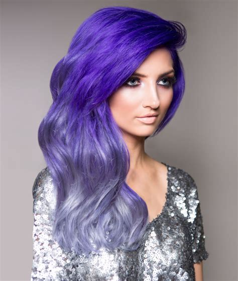 ombre with pravana vivids how to purple silver urban ombre inspiration modern