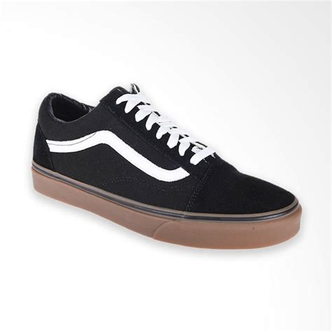 blibli vans jual vans u old skool gumsole sneaker shoes pria black