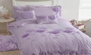 Ruffled Duvet Cover Floret Lilac Kids Bedding Set By Whimsy Online Bedding