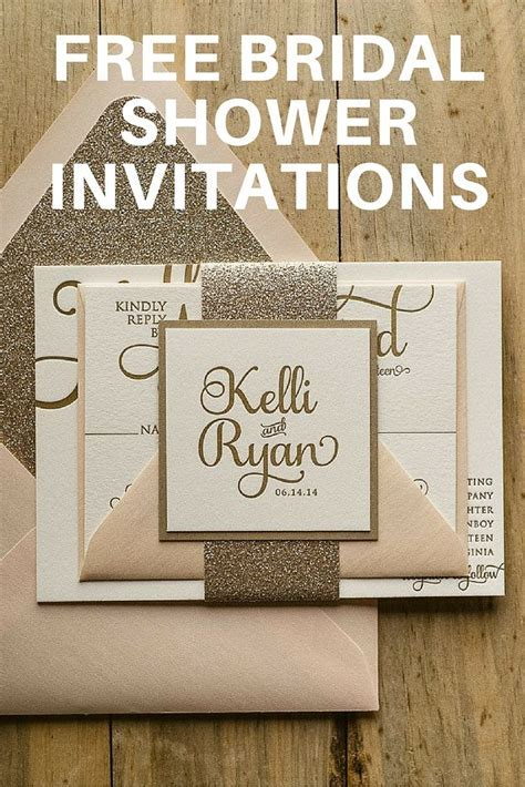 Team Wedding Blog Free Bridal Shower Invitations