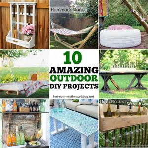 10 amazing outdoor diy projects here comes the sun