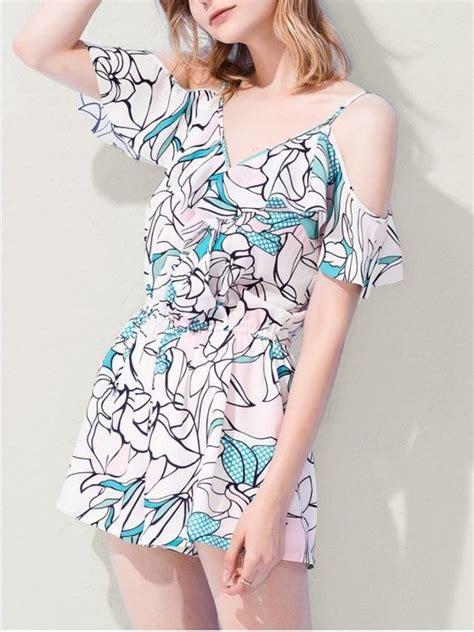 Flower Halter Top Ss M L 17705 best 25 cold shoulder ideas on cold shoulder tops cold shoulder sweater and winter