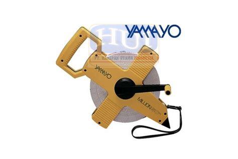 Meteran Yamayo Steel 50 Meter jual meteran manual roll meter yamayo 50 m fiber harapan