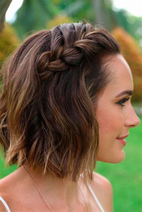 easy braid hairstyles for medium hair best 25 cute medium length hairstyles ideas on pinterest