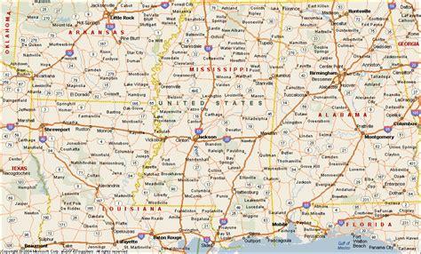 mississippi map mississippi map