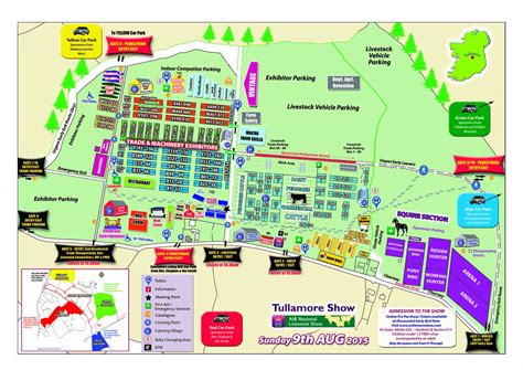 show map from tullamore show 2015 map sws forestry