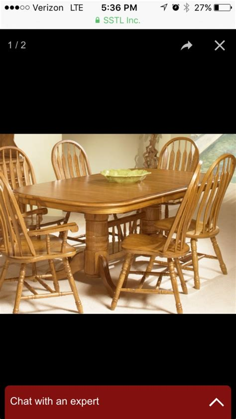 amish kitchen table and chairs letgo amish oak wood kitchen table in mount clemens mi