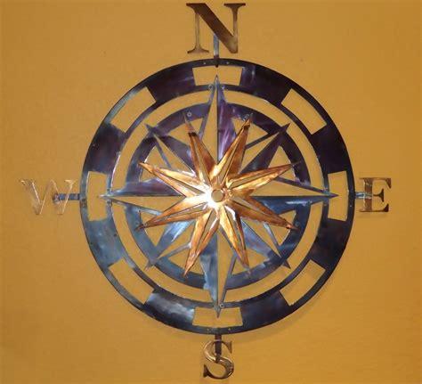 Compass Wall Decor by Buy A Custom Made Compass Metal Wall Home Decor
