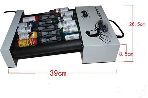 tattoo equipment free shipping wholesale shaking ink machine for tattoo ink on emily