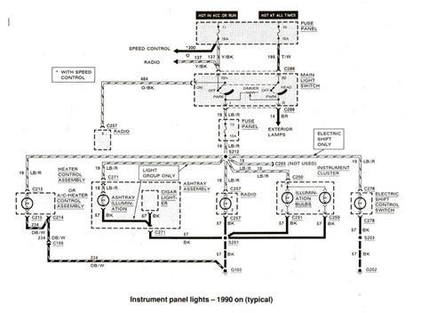 1990 ford bronco radio wiring diagram efcaviation