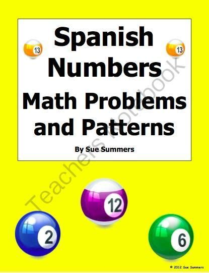 mathematical pattern in spanish 125 best images about telling time on pinterest bingo
