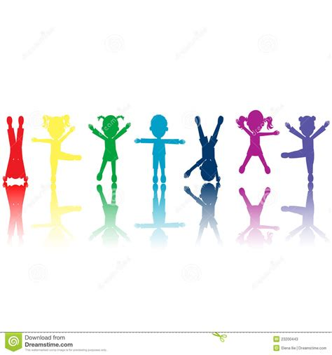 where are the people of color in childrens books the groupe de silhouettes color 233 es de gosses illustration